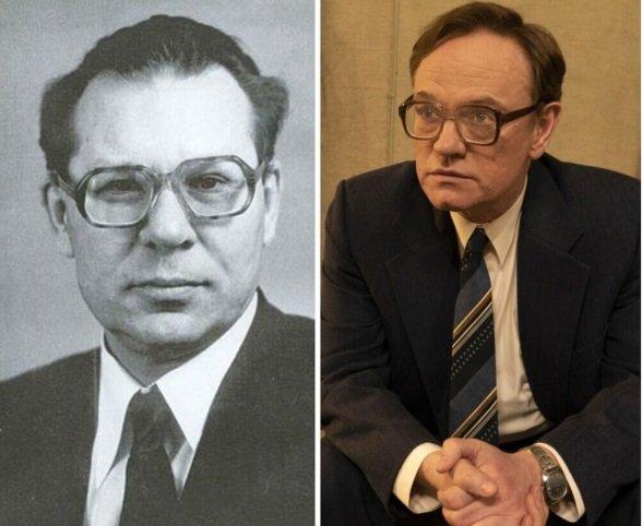 Джаред Харрис в роли академика Валерия Легасова