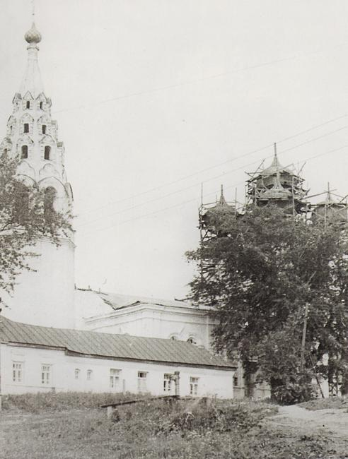 Село Молвитино, с которым связана история создания картины Грачи прилетели