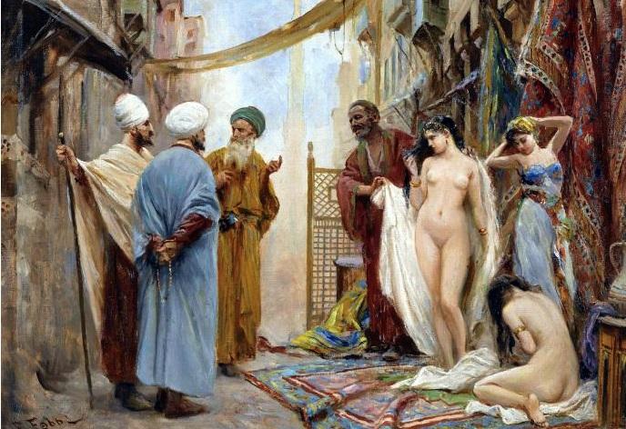 русские рабыни