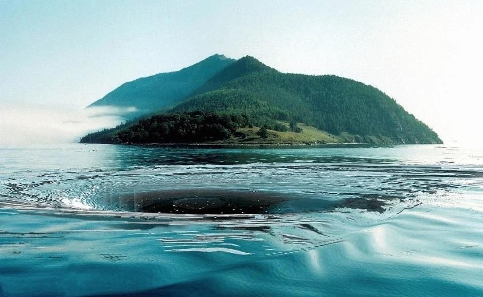 Чертова воронка, Байкал