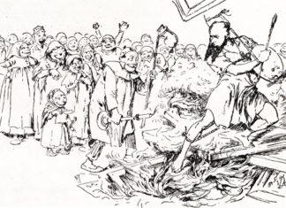 Карикатура на Верещагина