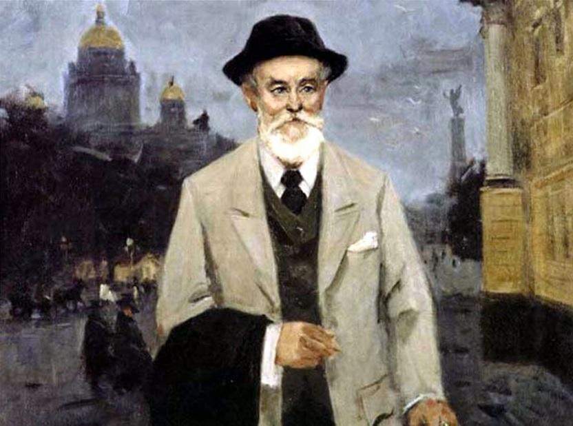 Карл Фаберже портрет