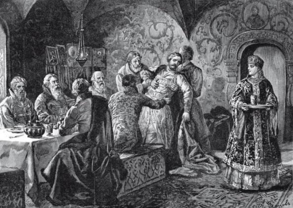 Князь Скопин-Шуйский на пиру у князя Воротынского