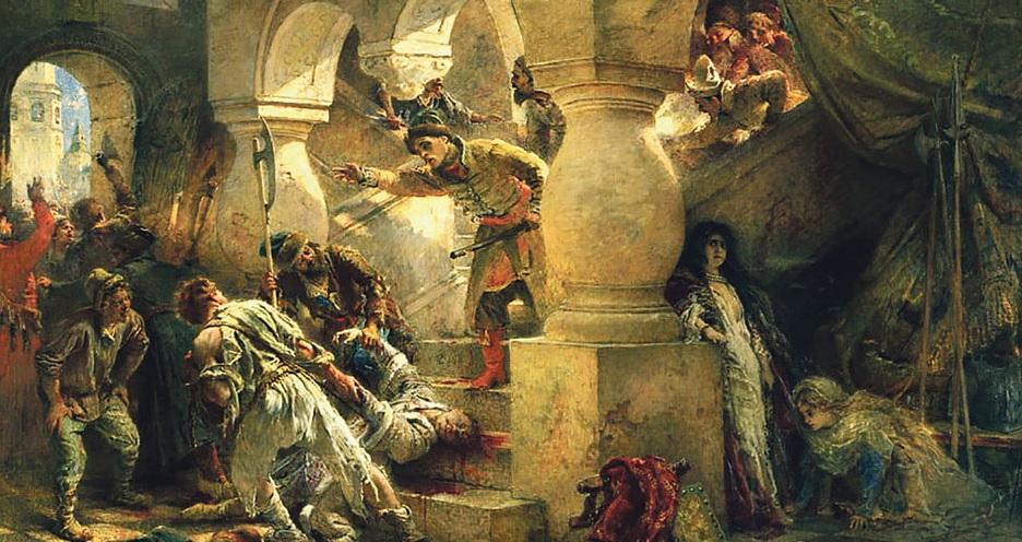 Маковский, убийство Лжедмитрия