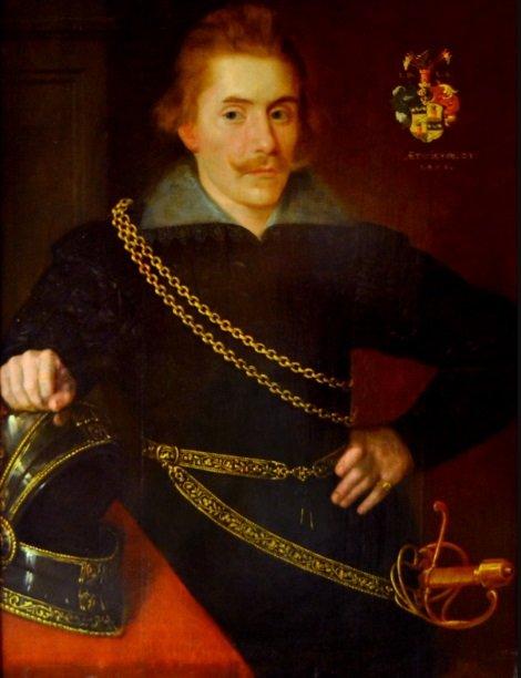 Портрет из Национального музея Швеции - Якоб Понтуссон Делагарди