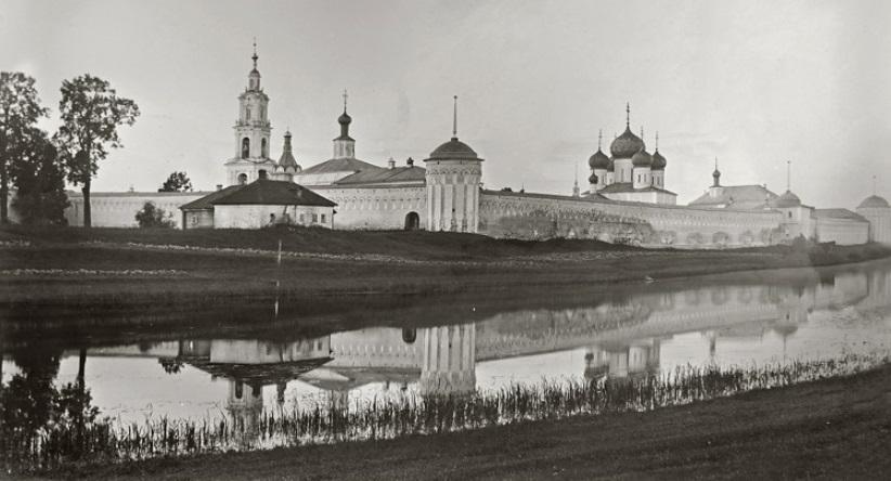 Троицкий Макарьев монастырь. Затоплен в 1940 года при строительстве Угличкого водохранилища