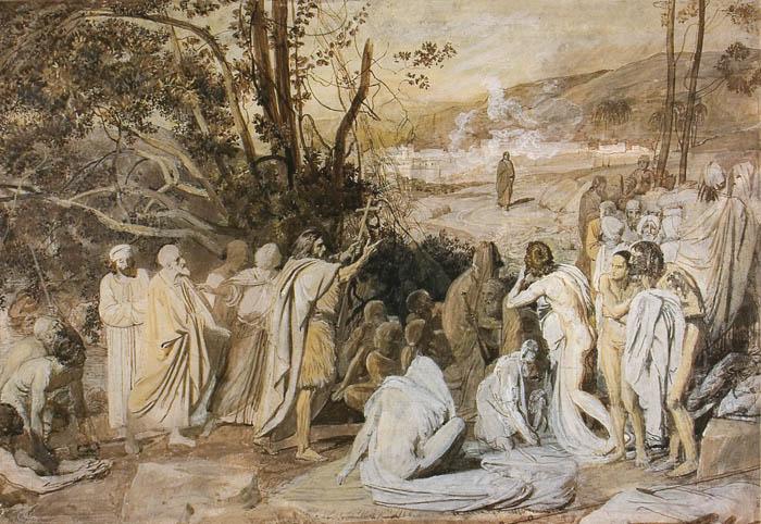 История картины длиною в 20 лет и … отчуждение: «Явление Христа народу» Александра Иванова