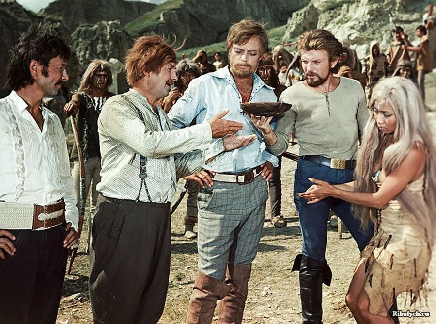 Племя онкилонов - съемки фильма