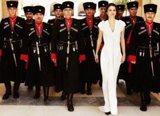 Черкесская гвардия и королевы Иордании Рания