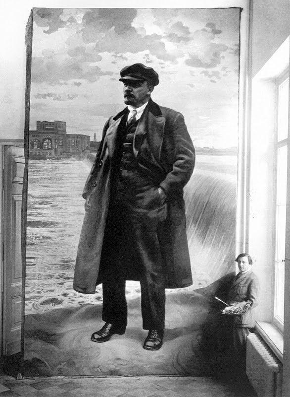Бродский портрет Ленина