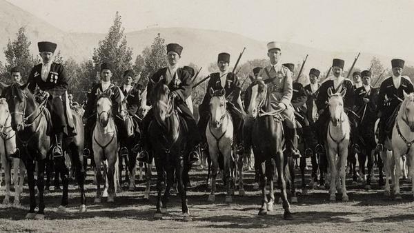 Черкесская гвардия короля Хусейна