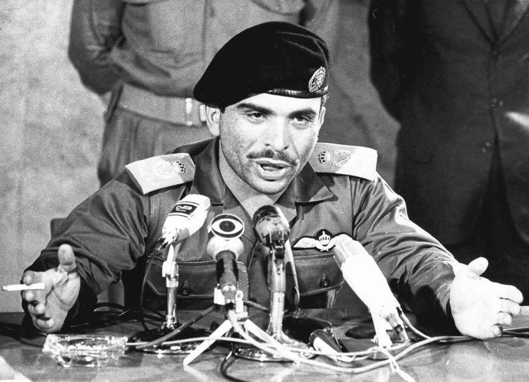 Король Иордании Хусейн ибн Талал