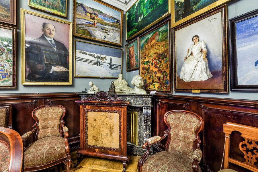 Загадки Бродского: как советский парк превратился в римский в руках художника