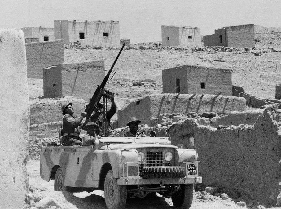 Патруль армии Иордана, осень 1970 года.