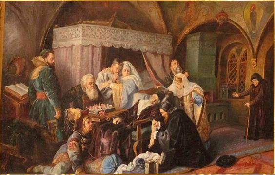 Смерть Ивана Грозного». Константин Маковский, 1888 год