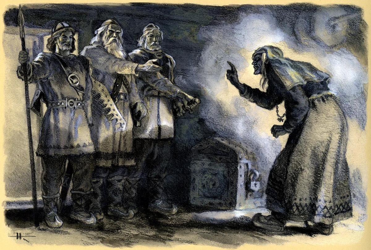В Средневековье Лапландию называли «страной ведьм»