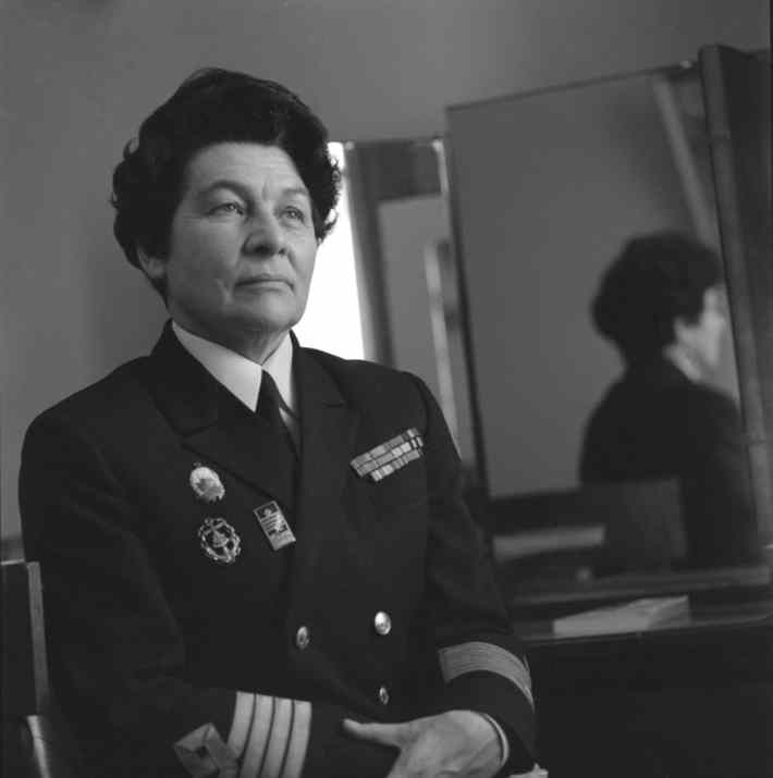 Анна Щетинина – первая в мире женщина, капитан дальнего плавания