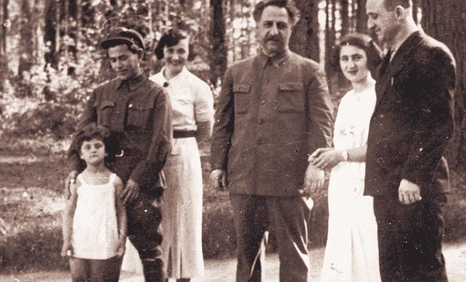 Евгения Хаютина и Николай Ежов