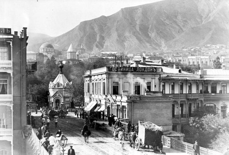 Фото Тифлиса, современный Тбилиси