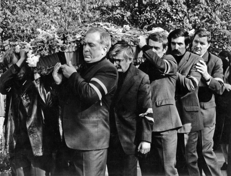 Похороны Василия Шукшина