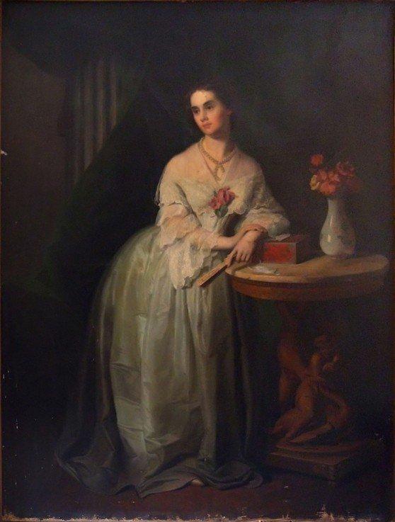 Дочь поэта А.Чавчавадзе, жена А.С.Грибоедова.
