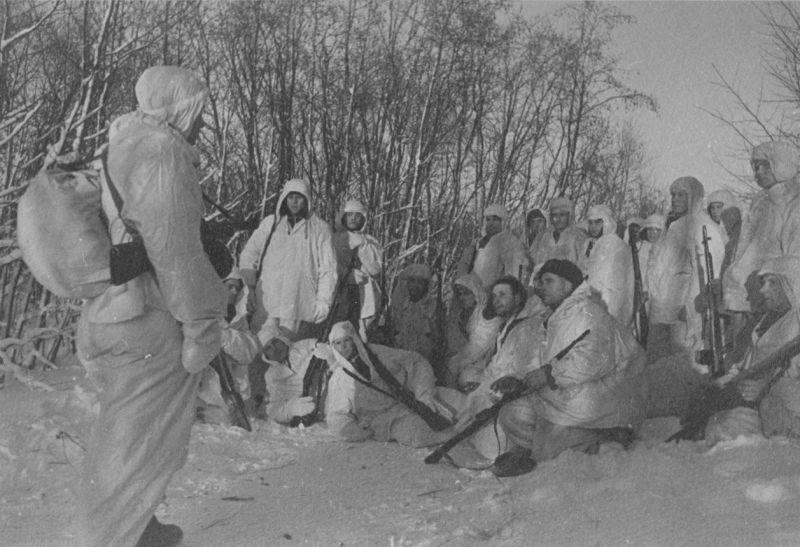 Партизаны во времена ВОВ