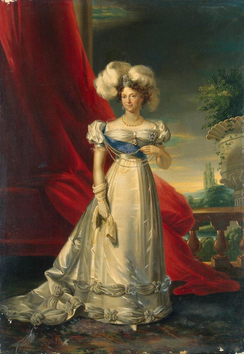 Императрица Мария Федоровна. Д. Доу. 1828 г.