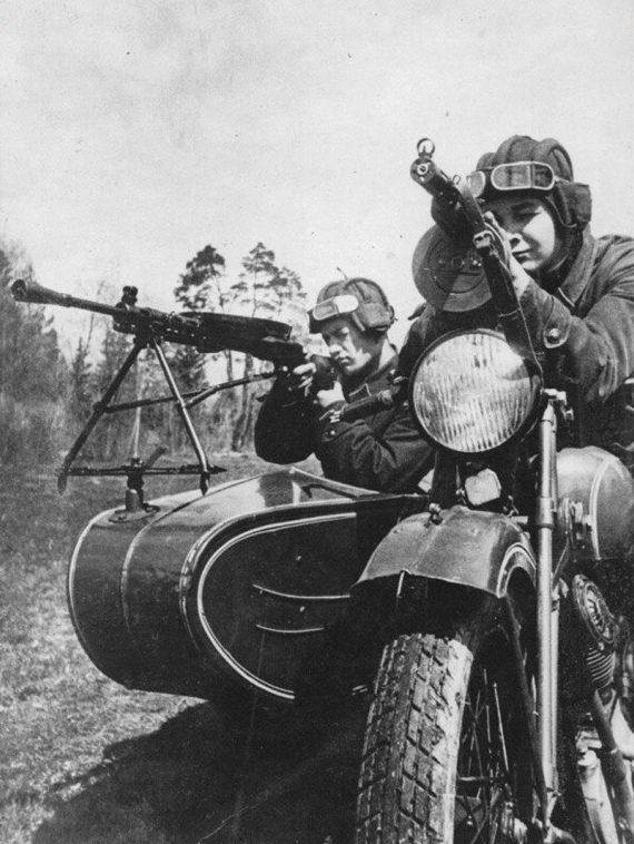 Харлей-Дэвидсон и Красная Армия