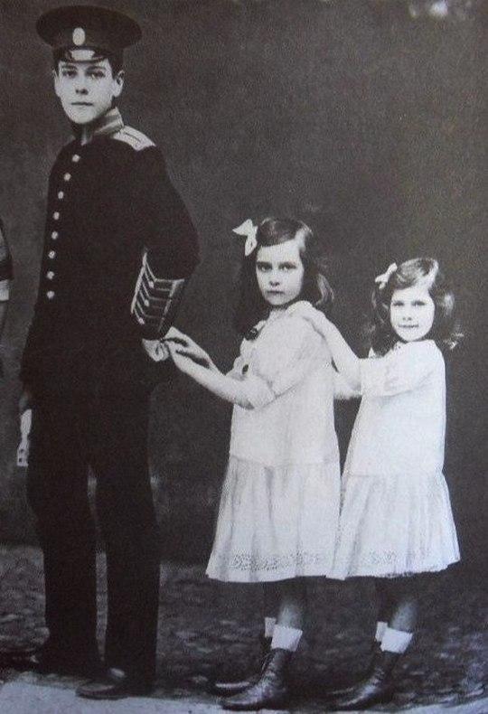 Vladimir, Irina and Natalia