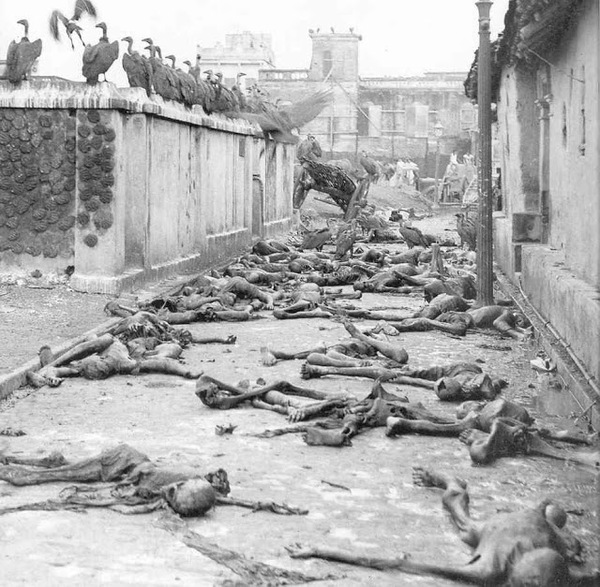 Умершие от голода в Бенгалии