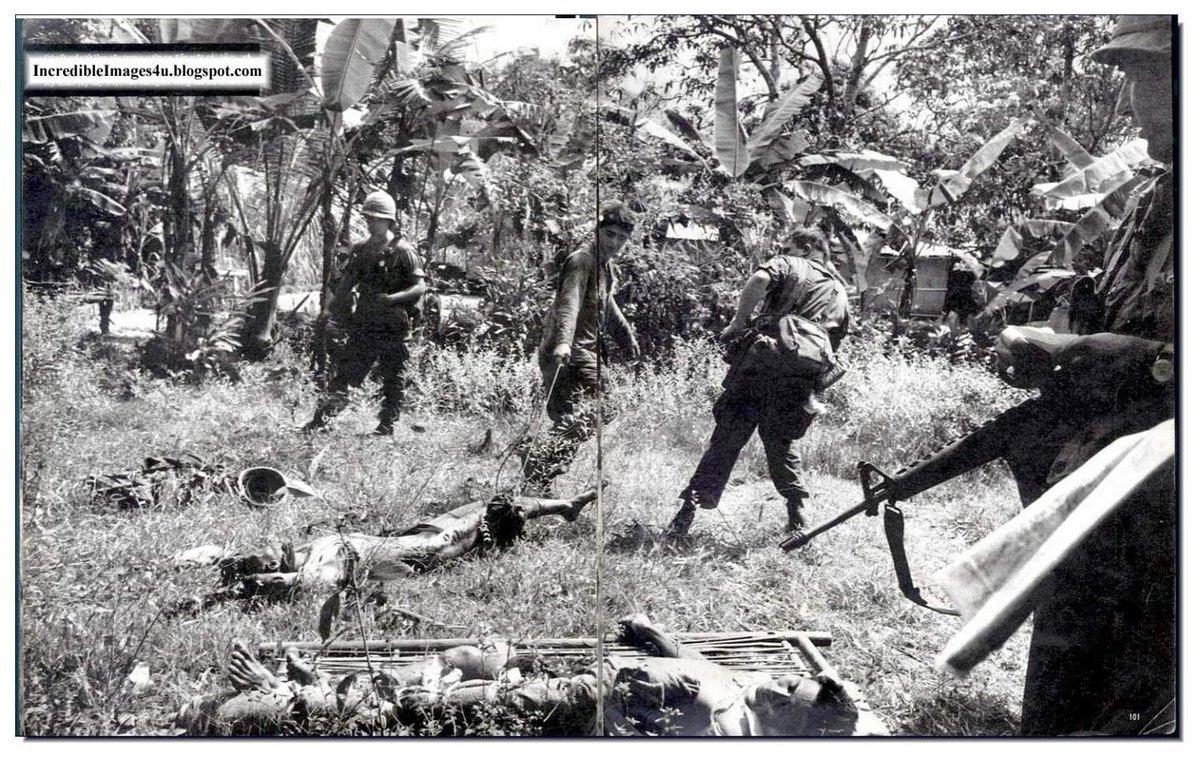 Зверства американцев во Вьетнаме
