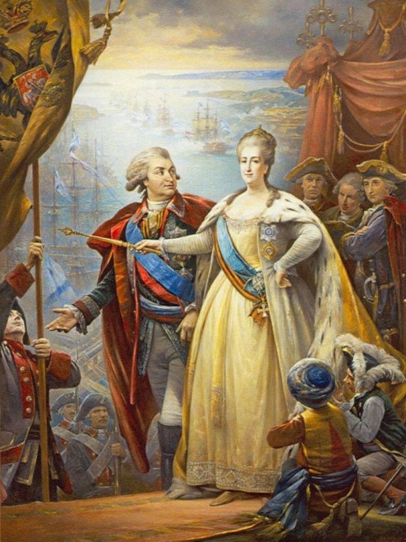 Григорий Потёмкин и Екатерина II
